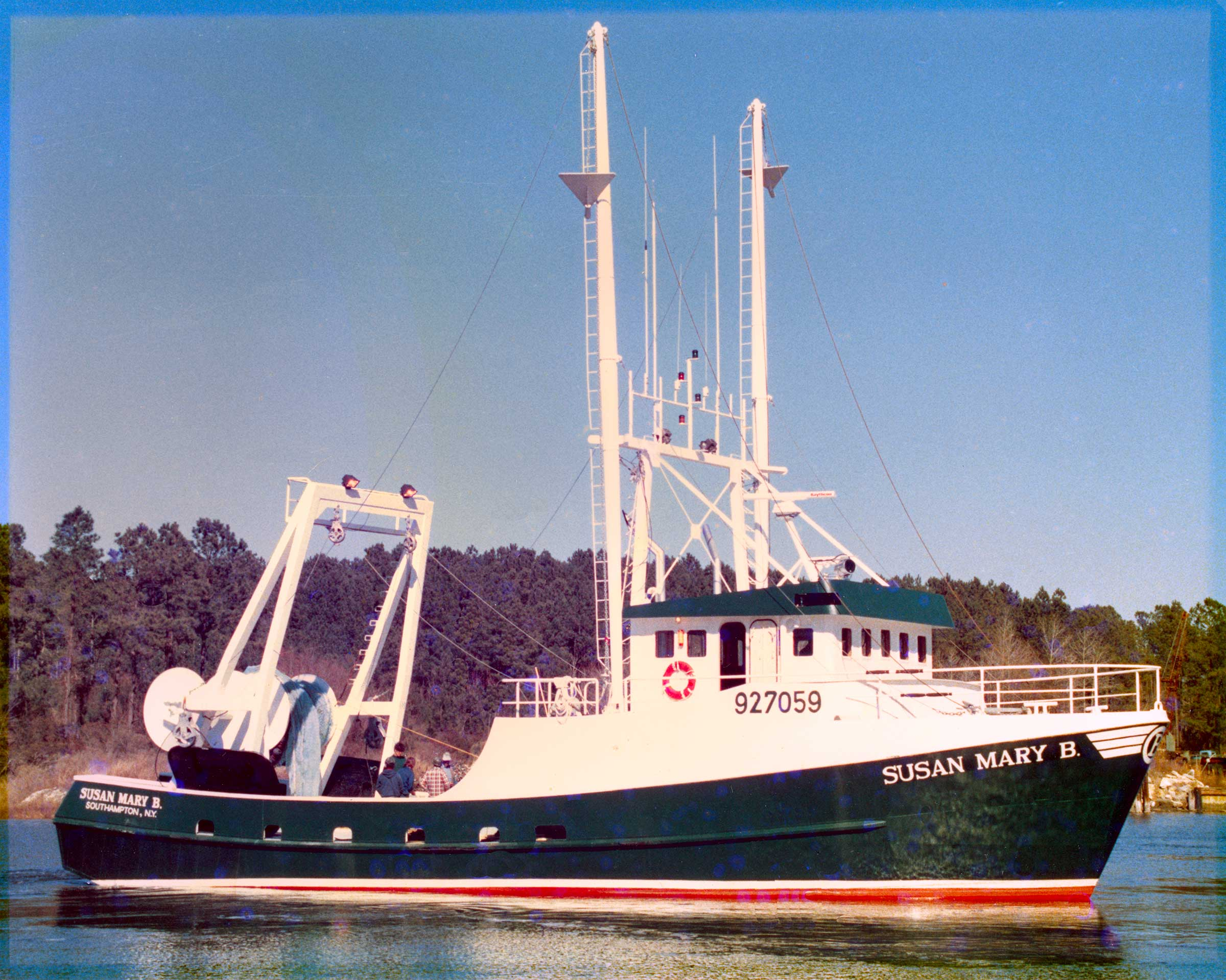 Susan Mary B, launched 1988