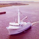 White Dove under way 1984