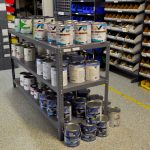 Bottom paints and hardware in Ship's Store
