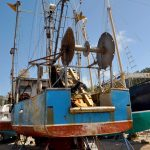 Fishing vessel at Bock Marine