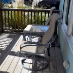 Boaters' Lounge front porch